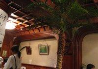 Interior of Acacia Western Restaurant, Shinjuku, Tokyo.