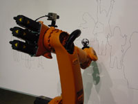 Kuka industrial robot, Robot Museum, Sakae, Nagoya
