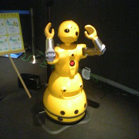 Wakamaru at Robot Museum, Sakae, Nagoya