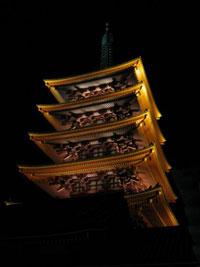 Five Storey Pagoda, Asakusa, Tokyo