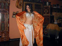 Belly dancer at Casablanca