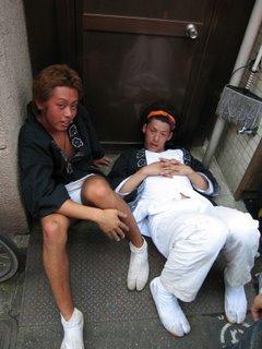 Drunk boys