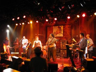The Fatback Band at the Cotton Club, Tokyo.