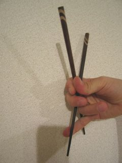 Can you use chopsticks?
