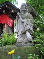Statue inside Joganji Temple, Nakano ward, Tokyo.