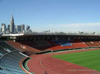 Kasumigaoka National Stadium, Tokyo.