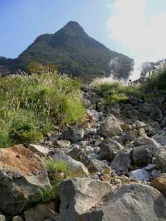 Komagatake, volcanic area of Hakone.