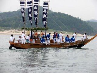 Kuromatsu matsuri boat