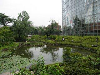 Mohri Gardens, Roppongi Hills, Tokyo.