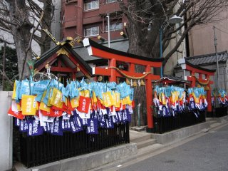 Streetside shrine, Nakano-ward, Tokyo.