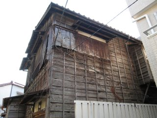 Old wooden house in Tokyo.