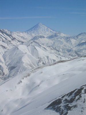 Mount Damavand, Alborz Mountains