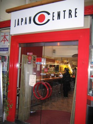 The Japan Centre, Piccadilly, London