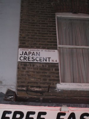 Japan Crescent, Crouch Hill, London