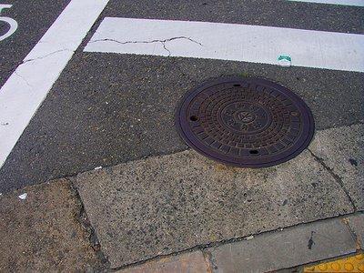 Manhole Cover Osaka