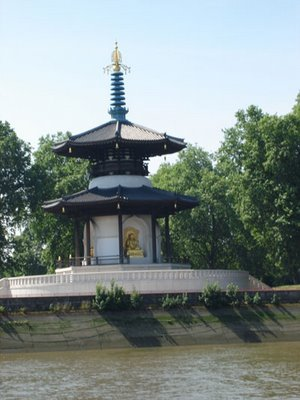 Japanese Peace Pagoda, Battersea Park, London