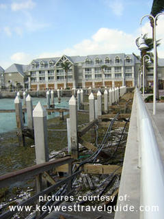 Hilton Marina totally destroyed