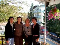 Irene, Cheri, Carol, and Judy