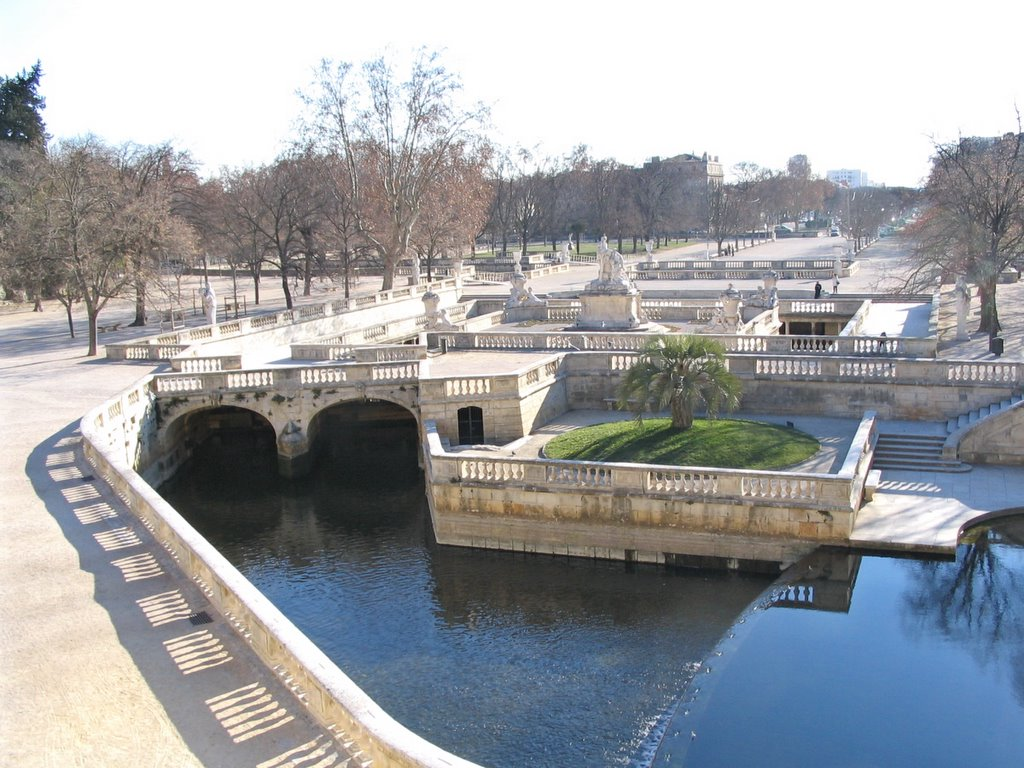 Maxted travels with modestine 1 nimes and avignon - Jardin de la fontaine nimes limoges ...