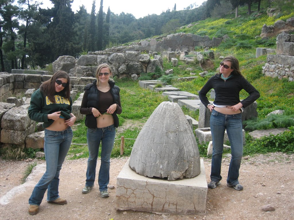 athena is my ouzo buddy: Delphi