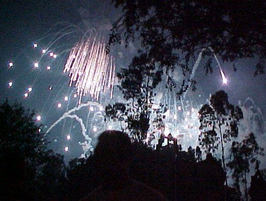 Disneyland fireworks, 07-04-03