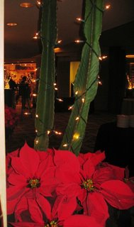 typical high-end holiday decor for Tucson