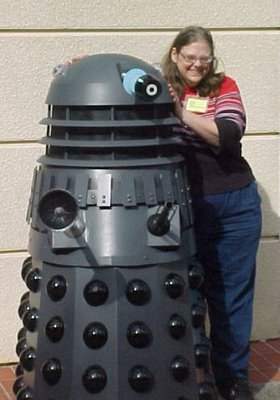 Karen and the Dalek