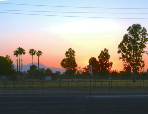 autocorrected sunset