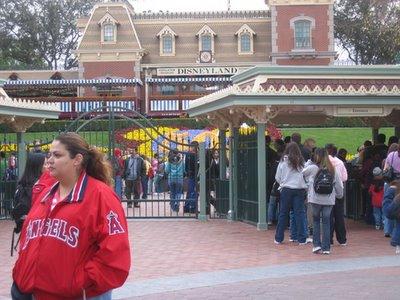 goodbye to Disneyland for now.