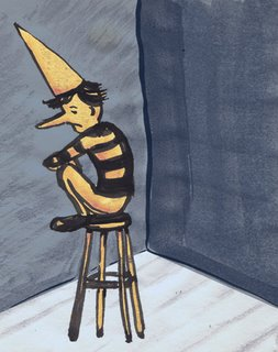dunce illustration by liz wong