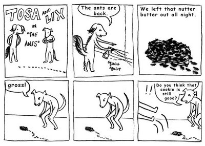 Tosa and Lix web comic by Liz Wong