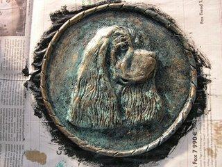 faux bronze