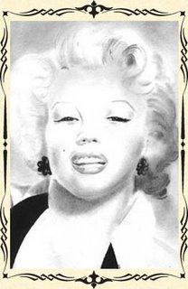 portrait de Marilyn Monroe