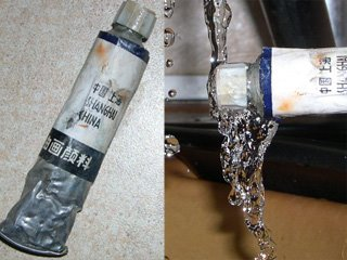 tubes de peinture a l'huile