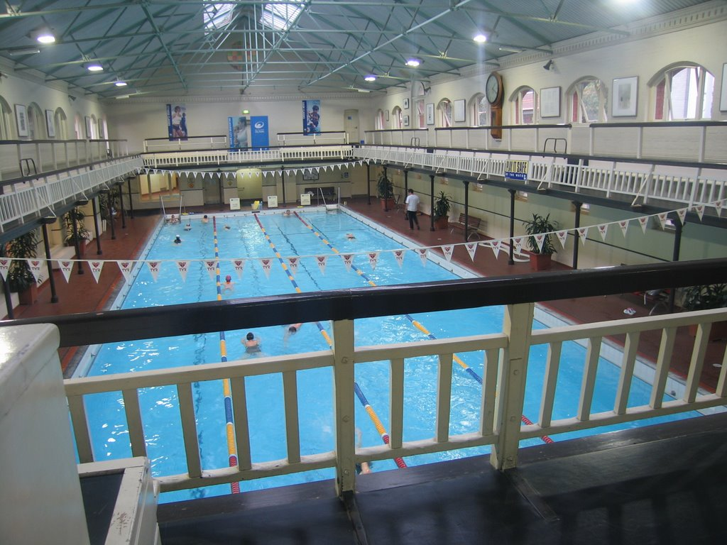 Swimming Melbourne City Baths
