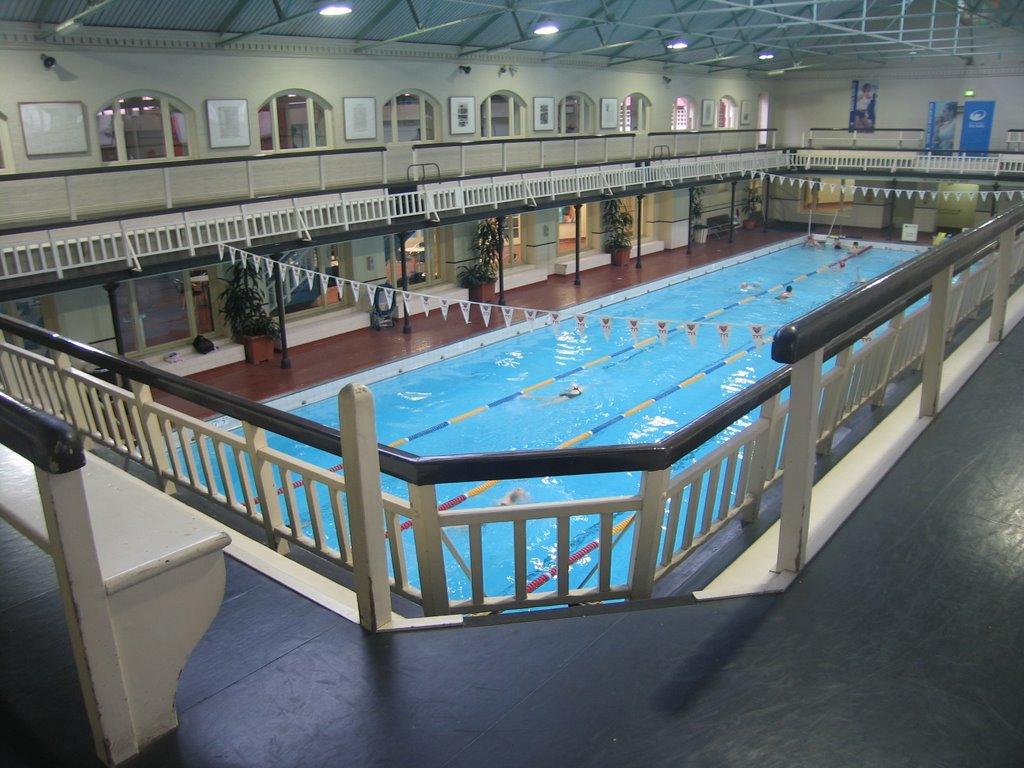 Swimming Melbourne City Baths