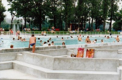 Swimming palatinus water park margaret island budapest - Margaret island budapest swimming pool ...