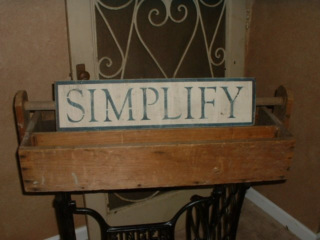 Americanprim primitive how tos ageing and stencilling wood signs friday may 26 2006 solutioingenieria Image collections
