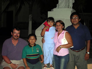 Isla Mujeres: Juan Gomez Chan and his Family