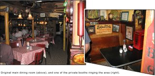 interior panorama of rossino's italian restaurant photos by toby weiss