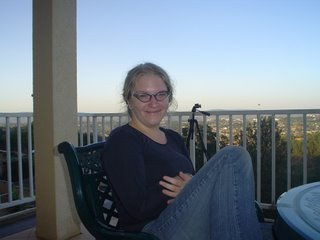 Me, on the balcony