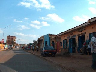 streetside in Kigali