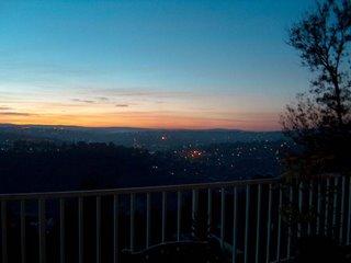 sunrise in Kigali