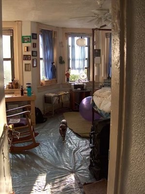 clean room from the doorway