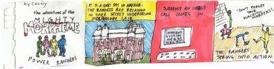 linguistics cartoon, strip one