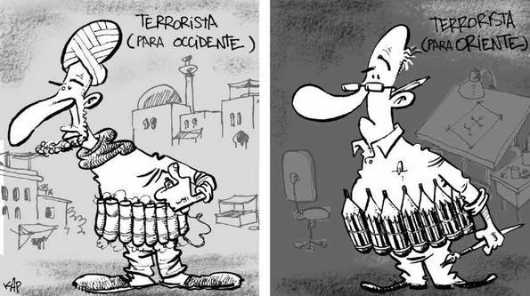 Viñetas y terrorismo