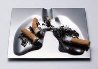Cenicero pulmones