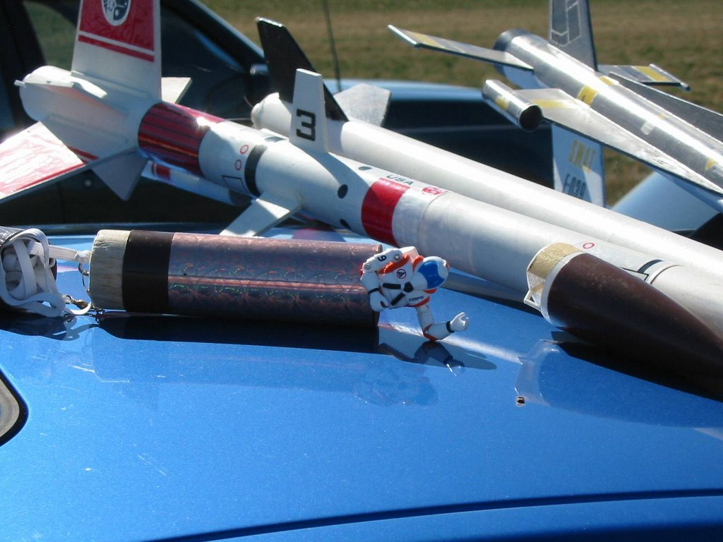 One Sixth Rocket Pilots