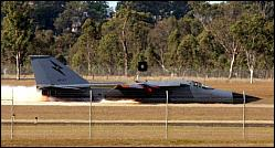 F-111 crashes in Australia