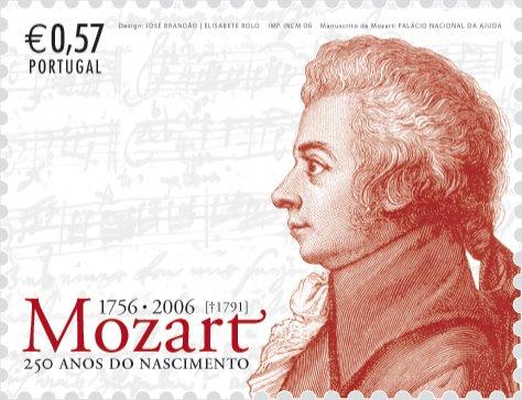 Resultado de imagem para selo de Mozart